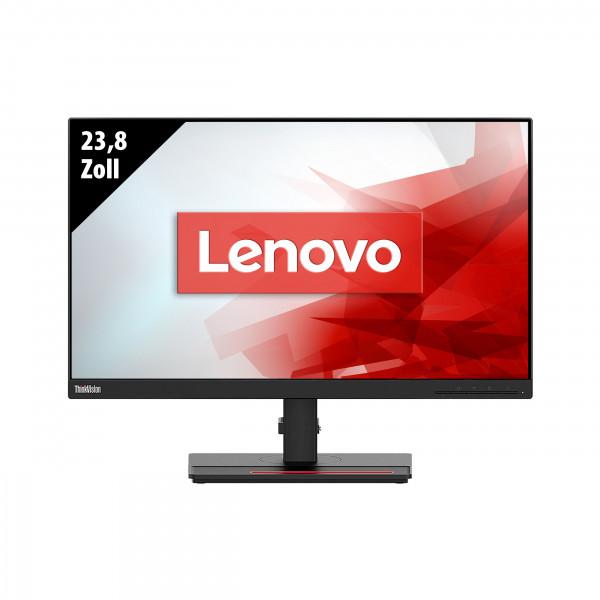 Lenovo ThinkVision T24i-20 - 23,8 Zoll - FHD (1920x1080) - 6ms - schwarz
