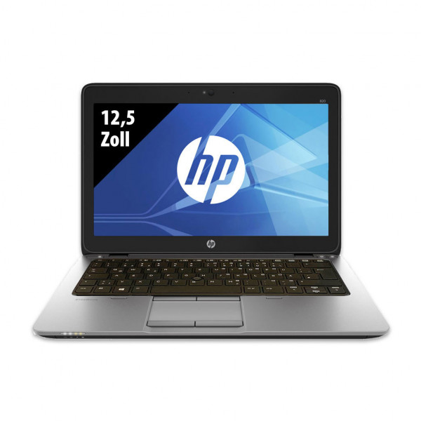 HP EliteBook 820 G2 - 12,5 Palcov - Core i5-5200U @ 2,2 GHz - 8GB RAM - 256GB SSD - WXGA (1366x768) - Webkamera - Win10Home
