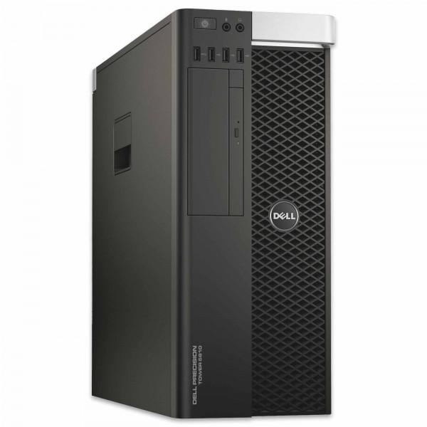 Dell Precision T5810 - Xeon E5-1620 v3 @ 3,5 GHz - 16GB RAM - 250GB SSD - DVD-ROM - Nvidia Quadro K4200 - Win10Pro