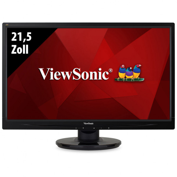 ViewSonic VA2246 - 21,5 Zoll - FHD (1920x1080) - 5ms - schwarz