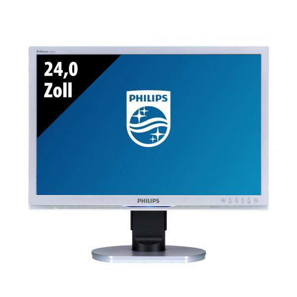 Philips Brilliance 240BW9CS/00 - 24,0 Zoll - WUXGA (1920x1200) - 5ms - schwarz/silber