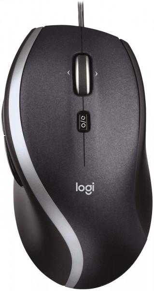 Logitech M500 - Kabelmaus - schwarz