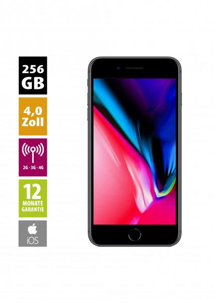 Apple iPhone 8 (256GB) - Space Gray