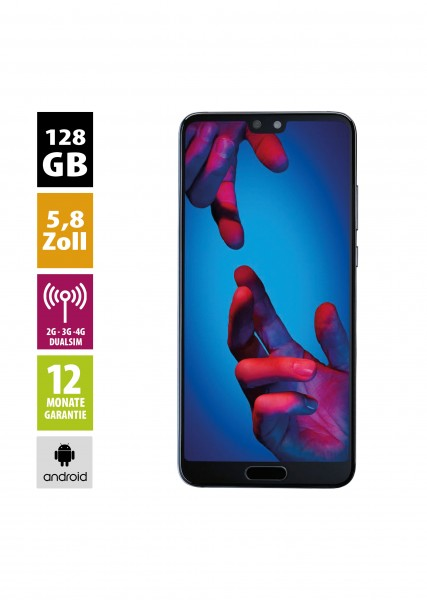 Huawei P20 Dual (128GB) - Midnight Blue