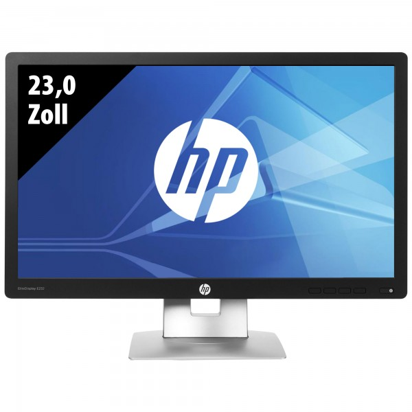 HP EliteDisplay E232 - 23,0 Zoll - FHD (1920x1080) - 7ms - schwarz