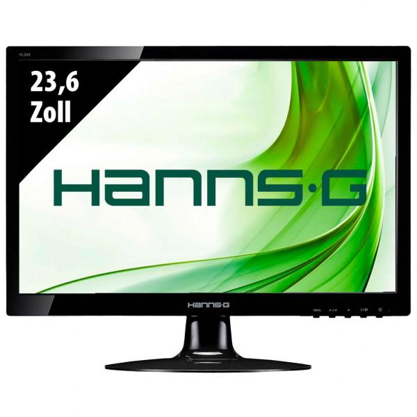 Hannspree HL249DPB - 23,6 Zoll - FHD (1920x1080) - 5ms - schwarz