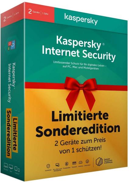 Kaspersky Internet Security 2 licencie na 1 rok limitovaná edícia