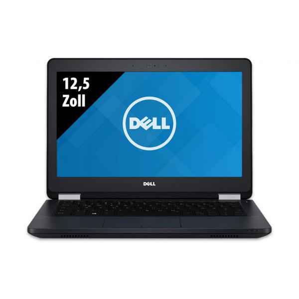 Dell Latitude E5270 - 12,5 Palcov - Core i5-6200U @ 2,3 GHz - 16GB RAM - 500GB SSD - WXGA (1366x768) - Webkamera - Win10Pro