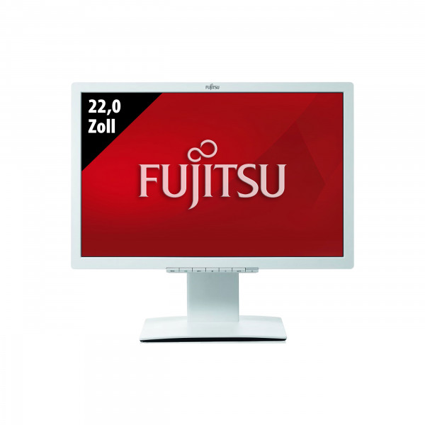 Fujitsu LCD Display B22W-7 LED - 22,0 Zoll - WSXGA+ (1680x1050) - 5ms - weiß