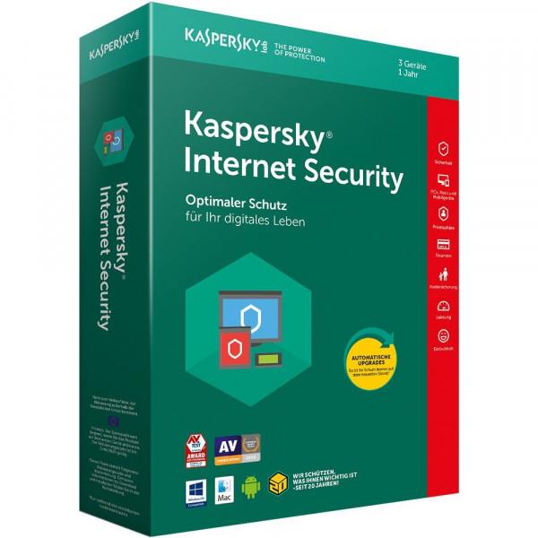 Kaspersky Internet Security 3er-Lizenz
