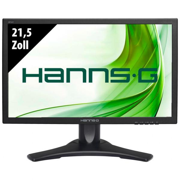 Hannspree HP227DCB - 21,5 Zoll - FHD (1920x1080) - 5ms - schwarz