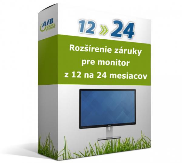 Rozšírenie záruky pre monitor z 12 na 24 mesiacov