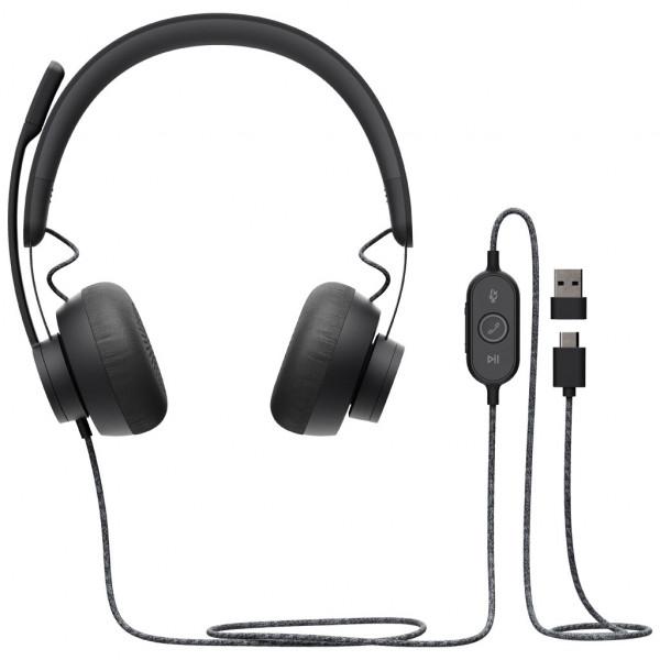 Logitech Zone Wired - Headset - für Unified Communication