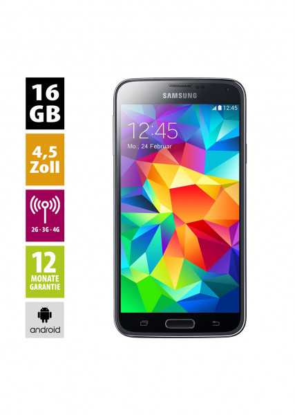 Samsung Galaxy S5 mini (16GB) - Charcoal Black