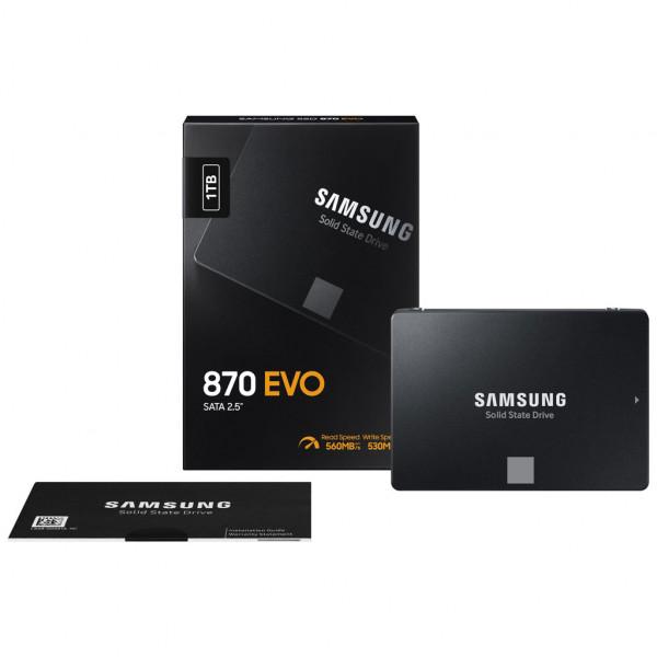 Samsung 860 EVO - SSD - Interný - 2,5 palca - SATA III - 1TB - Bulk Version