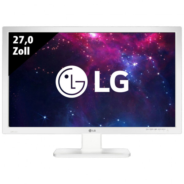 LG 27MB65PY-W - 27,0 Zoll - FHD (1920x1080) - 5ms - weiß