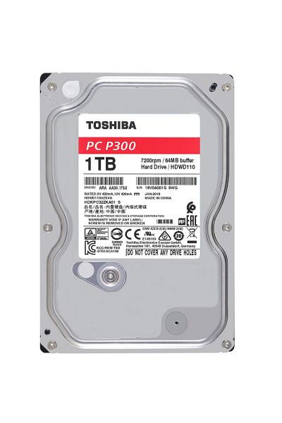 Toshiba P300 - HDD - Interný - 3,5 palca - SATA - 1TB