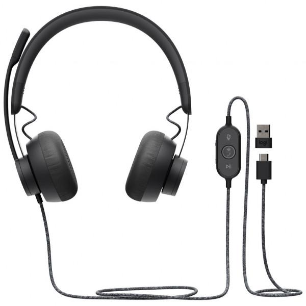 Logitech Zone Wired - Headset - für MS Teams