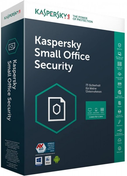 Kaspersky Small Office Security 5 User Box-Pack