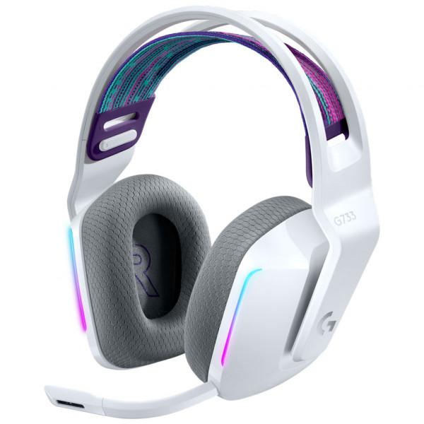 Logitech G733 LIGHTSPEED - Over-ear Gaming Headset - Wireless - Weiß