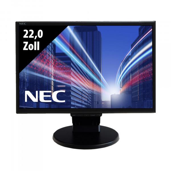 NEC LCD225WXM - 22,0 Zoll - WSXGA+ (1680x1050) - 5ms - schwarz