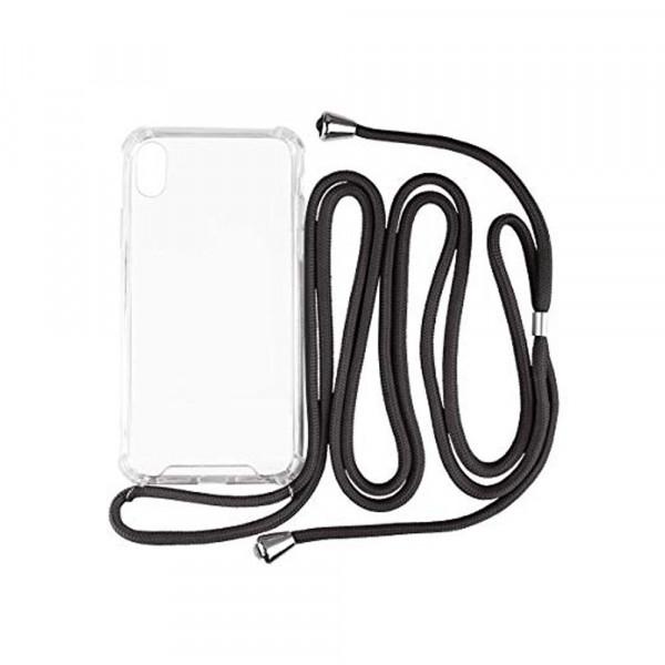 Hello Cable - retiazka na mobilný telefón pre Apple iPhone XR - čierna