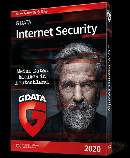 G Data Internet Security 2020 pre 1 zariadenie na 1 rok