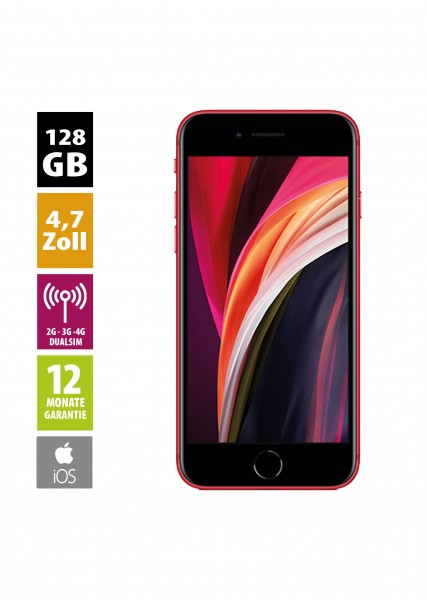 Apple iPhone SE (2020) - (128GB) - (PRODUCT)RED