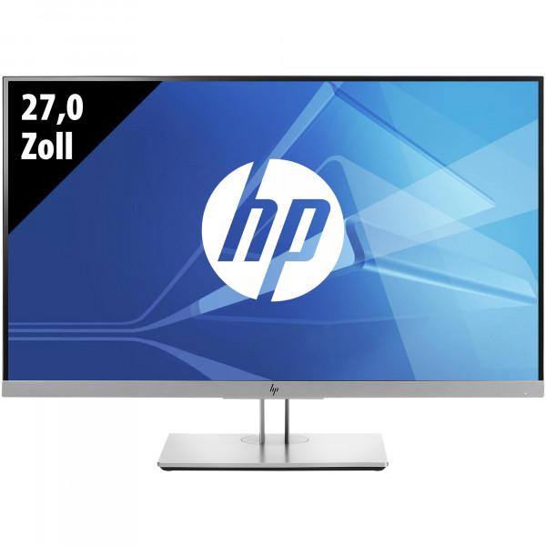 HP EliteDisplay E273d Docking-Monitor mit Webcam - 27,0 Zoll - FHD (1920x1080) - 5ms - schwarz/silber