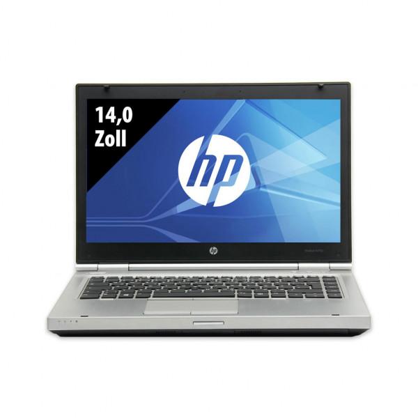 HP EliteBook 8470p - 14,0 Palcov - Core i5-3210M @ 2,5 GHz - 8GB RAM - 500GB HDD - WXGA (1366x768) - Win10Home