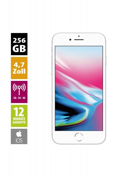 Apple iPhone 8 (256GB) - Silver