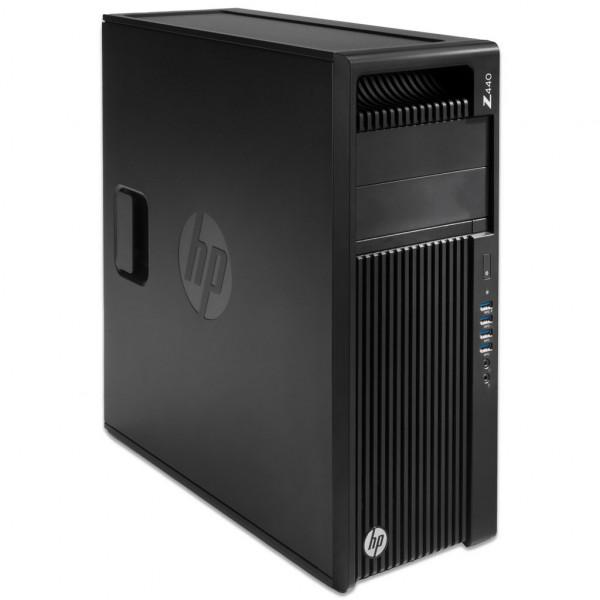 HP Workstation Z440 MT - Xeon E5-1650 v4 @ 3,6 GHz - 32GB RAM - 500GB SSD - Nvidia Quadro K2200 - Win10Pro