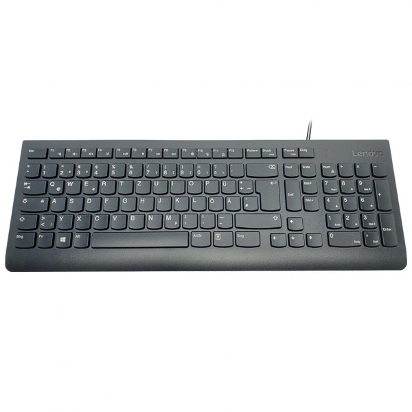 Lenovo SK-8821 - Tastatur - USB - QWERTZ - Schwarz