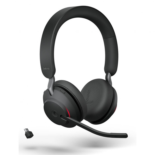 Jabra Evolve2 65 - USB-C UC Stereo - Headset - On-Ear - kabellos