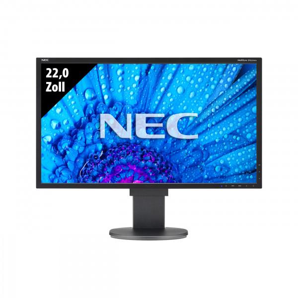 NEC MultiSync LCD EA223WM-BK - 22,0 Zoll - WSXGA+ (1680x1050) - 5ms - schwarz