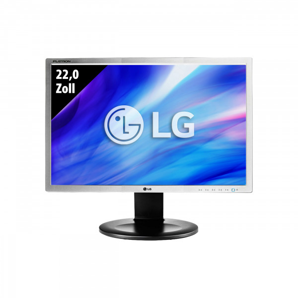 LG Flatron E2210PM-SN - 22,0 Zoll - WSXGA+ (1680x1050) - 5ms – schwarz/silber